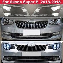 ヘッドランプシェル車のヘッドライトカバーヘッドライトシェル透明レンズシェードヘッドランプガラスのためのスーパーb 2013 2018