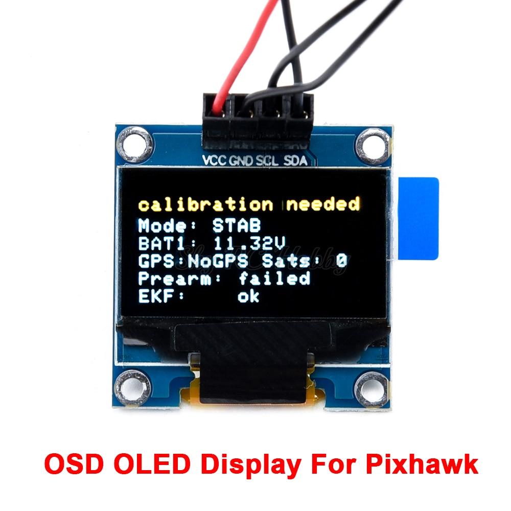 OLED дисплей Pixhawk OSD для Pixhawk 2.4.8 PIX PX4 Полетный контроль Полетный дисплей статус полета подключен к интерфейсу I2C