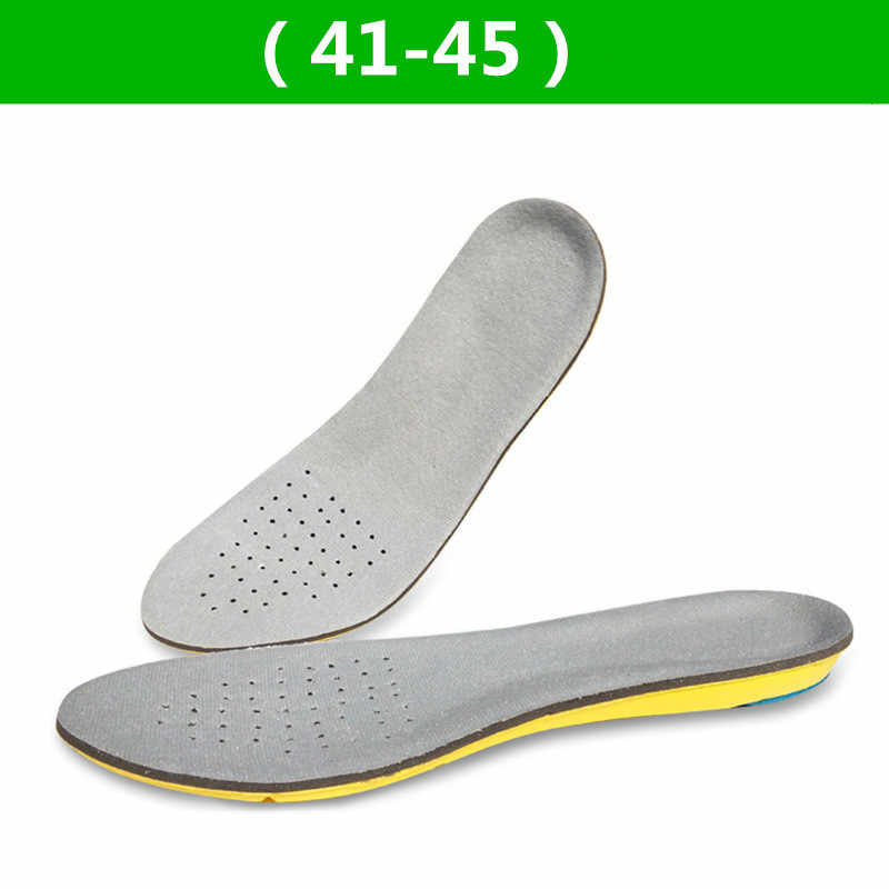 Düz ayaklar Arch destek tabanlık yüksek kalite 3D Premium rahat peluş bez ortez tabanlık ayak ped koşu spor tabanlık