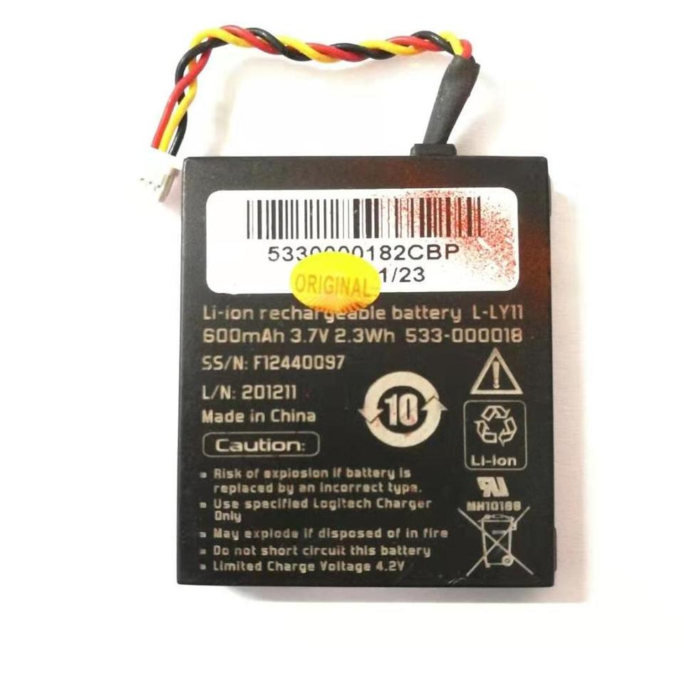 Compatible with Logitech L-LL11 Mouse Battery 600mAh 3.7V Lithium-Ion Replacement for Logitech NTA2319 Battery