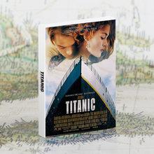 30 Pçs/set Clássico Filme Titanic Cartões História de Amor Cartão Postal Cartão de Mensagem DIY Decoração Da Parede