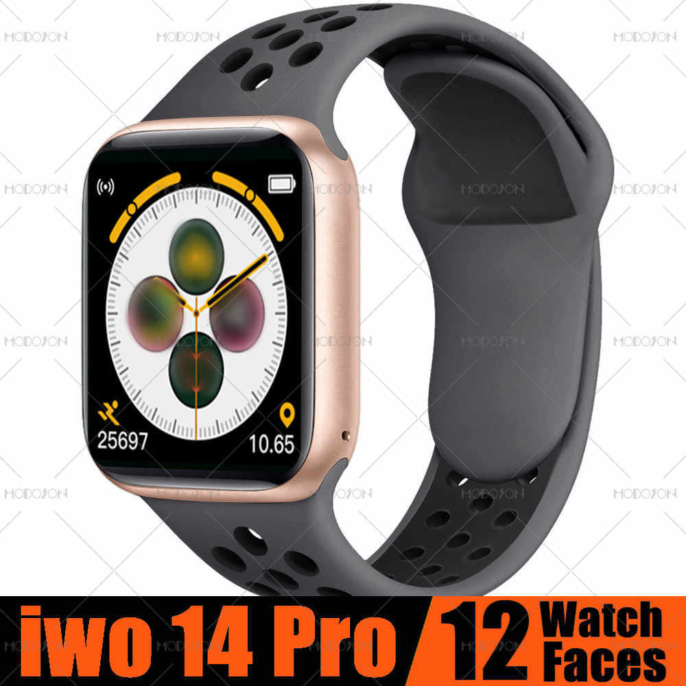 Smartwatch MODOSON iwo 14 Pro Series 5 ECG cardiofrequenzimetro pressione sanguigna Fitness Tracker Smartwatch T500 per Apple iphone Android