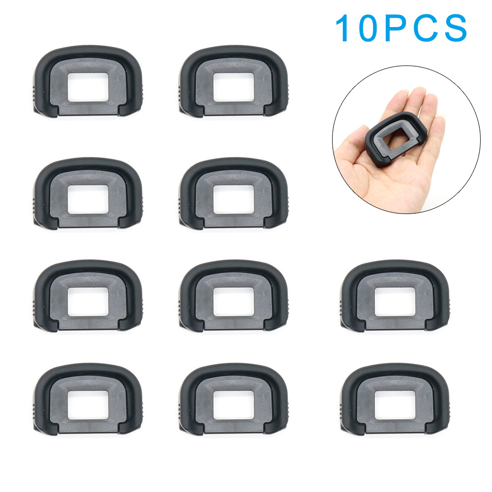 10PCS EyePiece Eye cup Rubber eyecup EG Camera Eyes Patch Eye Cup For Canon EOS 1D X 1Ds 5D Mark III IV 7D-0