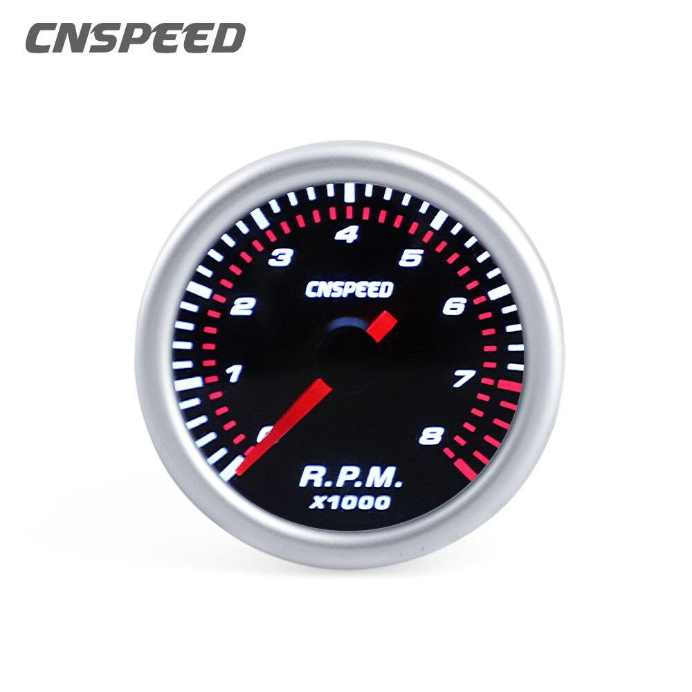 Автомобильный Тахометр CNSPEED, измеритель частоты вращения 0 ~ 8000 об/мин, 2
