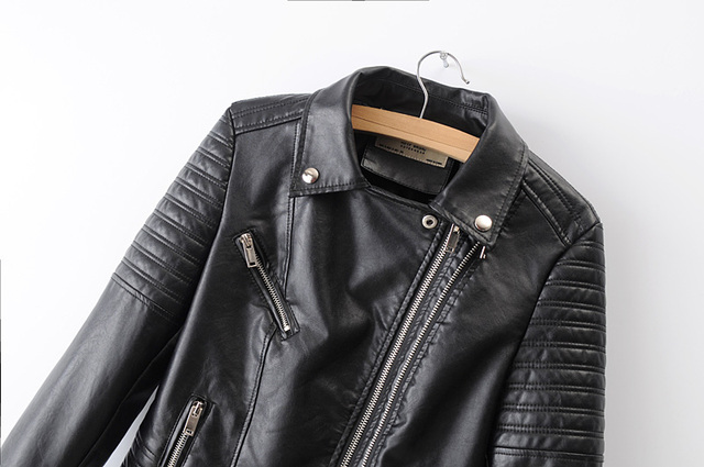 Smooth Motorcycle Leather Jackets  3
