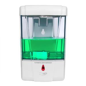 Image 5 - 700ml Liquid Soap Dispenser Wall IR Sensor Automatic Soap Dispenser Touch Free Kitchen Soap Lotion Pump For Kitchen Bathroom