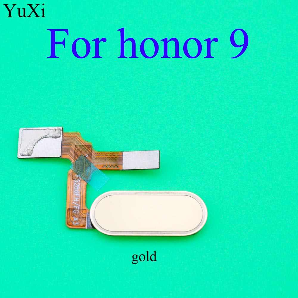 YuXi Para Huawei Honor 9 Fingerprint Sensor Home button Voltar Substituição Flex Cable