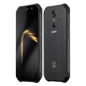 Image 2 - AGM A9 המוקשח אנדרואיד טלפון חכם 4GB 64GB 5.99 אינץ 18:9 הסלולר עמיד למים 5400mAh נייד טלפון IP68 אוקטה Core Dual SIM NFC