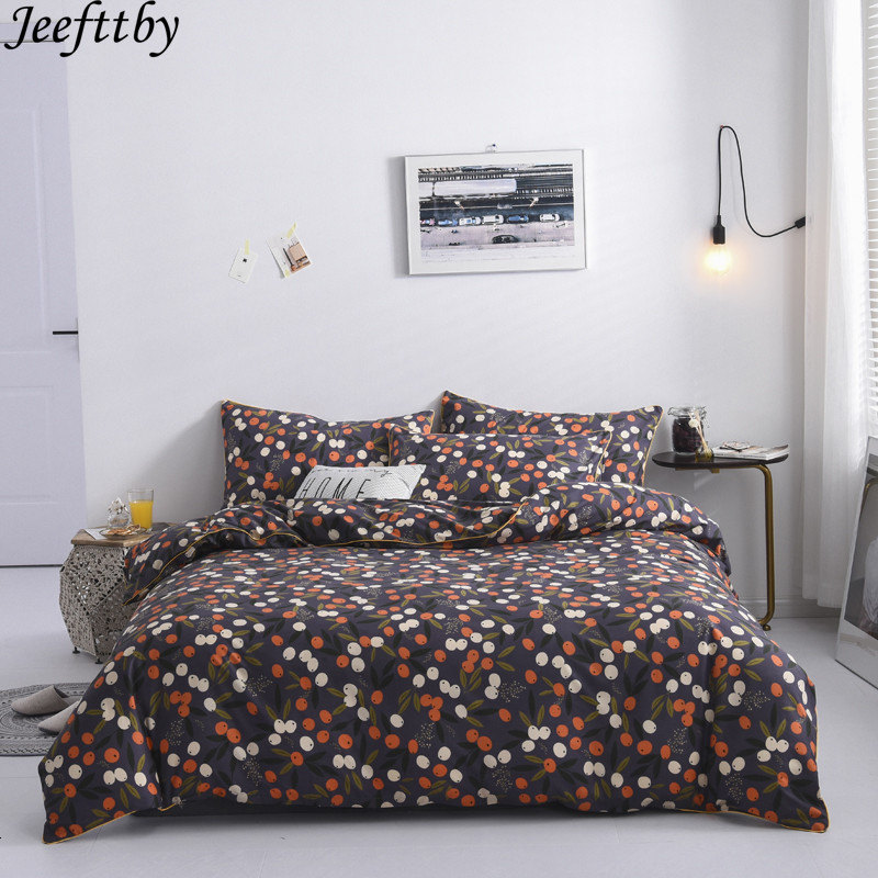 Fashion Simple Style Home Textile Bedding Set Luxury Family Set Sheet Duvet Cover Pillowcase Full King Single Queen,bed Set 2020