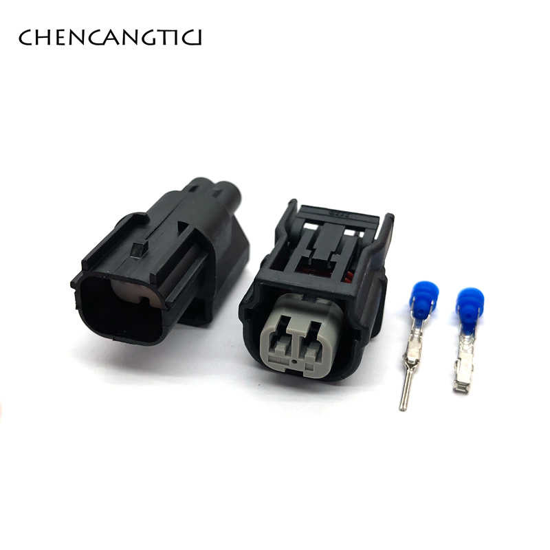 1 Set/pcs 2 Pin/way HV 040 Male Female Auto Connector ABS Sensor Plug Press Switch Ignition Coil For Honda 6189-7036 6189-6905