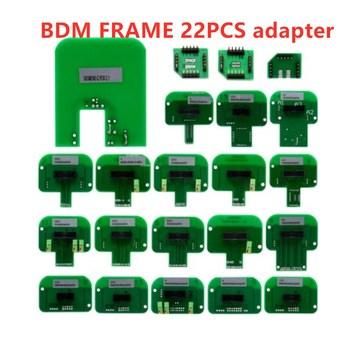 Acheheng K Adapter Dimsport BDM rama sonda adapter BDM rama rampa ECU 22 sztuk adapter BDM adapter tanie i dobre opinie CN (pochodzenie) BDM Frame adapter 0inch plastic Poduszka powietrzna skanowania narzędzia i symulatory 0 3kg