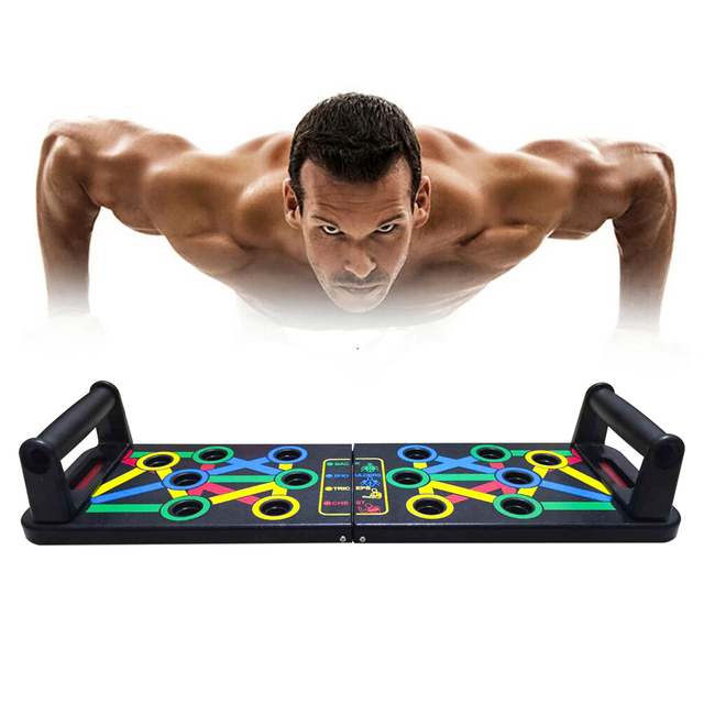 14 in 1 Push-Up Rack Board Training Sport Workout Fitness Gym Equipment 1