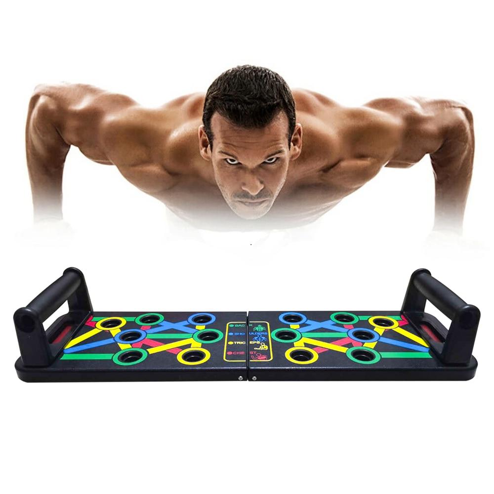 14 em 1 push-up rack board treinamento esporte treino de fitness ginásio equipamentos placa para o corpo abs exercício de construção muscular abdominal