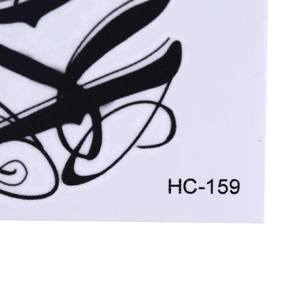 Tatuaże do ciała produkty erotyczne wodoodporne tymczasowe tatuaże dla mężczyzn i kobiet 3d list projekt mały tatuaż naklejki hurtownia HC1159
