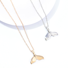 New Design Animal Fashion Women Necklace Whale Tail Fish Nautical Charm Mermaid Tails Necklaces Jewelry