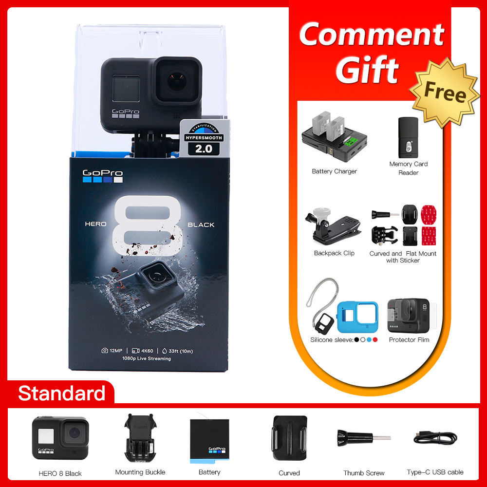 Gopro Action-Camera Video Black Live-Streaming Waterproof Sport Ultra-Hd 1080p 4K Original title=