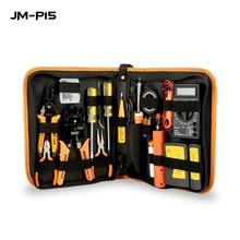 17 in 1 Networking Reparatur Werkzeug RJ45 RJ11 RJ12 CAT5 CAT5e Tragbare LAN Netzwerk Reparatur Tool Kit Utp Kabel Tester rimping zangen T