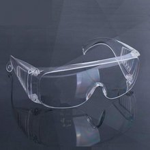 цена на Safety Glasses Lab Eye Protection Medical Protective Eyewear Clear Lens Workplace Safety Goggles Anti-dust Supplies