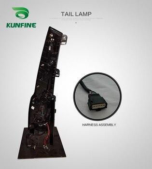 KUNFINE Pair Of Car Tail Light Assembly For GMC Yukon Chevrolet Suburban 2015-2016  LED Brake Light With Turning Signal Light
