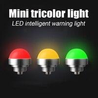 스마트 신호 표시 등 led 24 v 3 w 방수 방진 기계 장비 경고등 반구형 금속 신호등