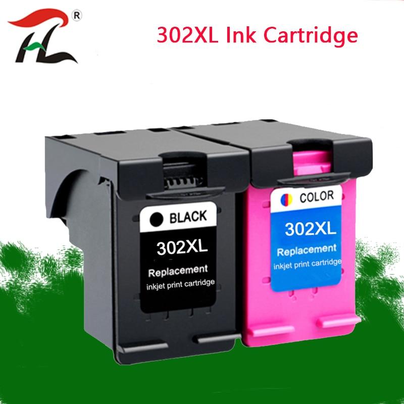 Compatible For HP302XL Ink Cartridge 302XL ENVY4520  HP302 Ink Cartridge Hp2131 2132 4520 HP OfficeJet 3830 3832 4650 Printer