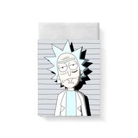 Rick And Morty Bed Sheet Bed Linen Poplin Cotton Posciel Coarse Calico Couple Single Euro Kids Twin Bedding Ropa De Cama Queen