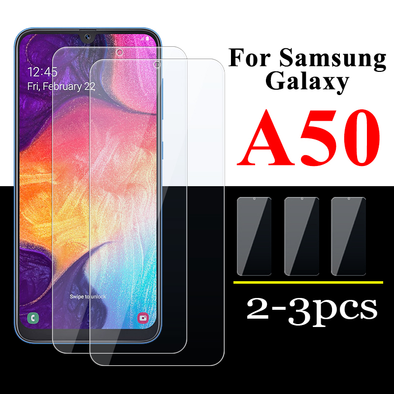 Coque 2-3 pièces sur Galaxy A50 verre de protection pour Samsung A 50 housse Samsyng Galaxy ya50 protection décran 50A tempérée Samsun Armor