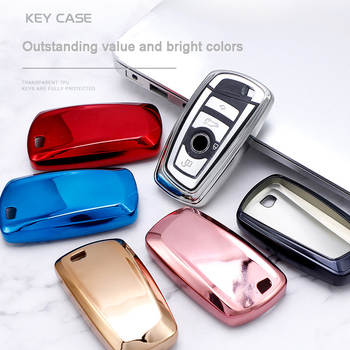 Car Key Shell Cover Case For BMW F10 F20 F30 NEW 1 3 4 5 6 7 Series X3 X4 320I 116I 118I 328I 530I E46 E39 E90 E36 E60 E34 E30 image