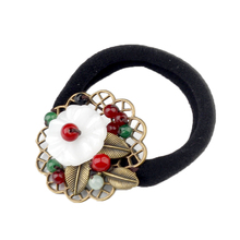 Creative Vintage Ethnic Hair rope Head Jewelry Chinese Ancient style ring Classical rubber band Ornaments Accessories