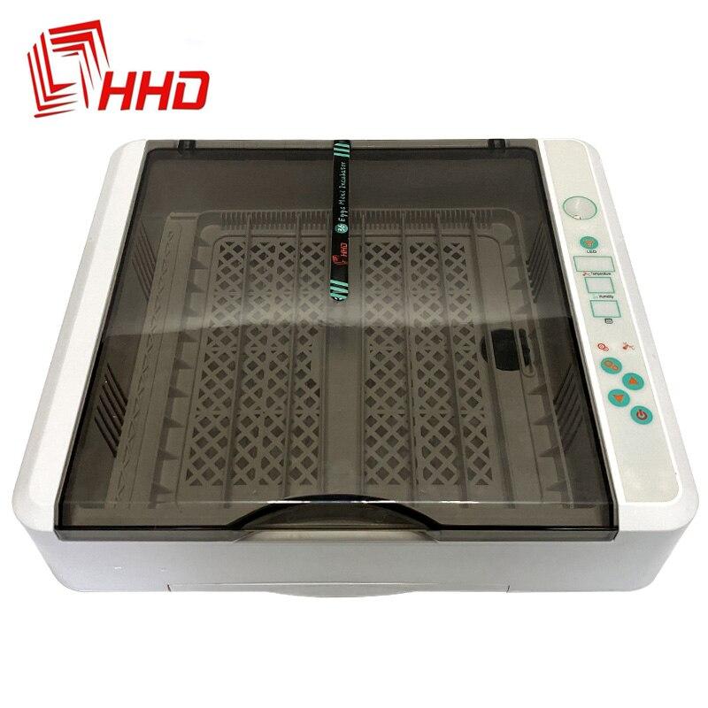 O envio gratuito de ovo incubadora hhd totalmente automático chocadeira 36-120 ovo fazenda incubadora máquina digital para pintainho codorna ganso
