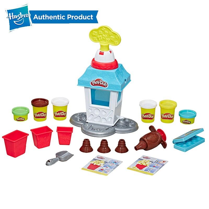 Hasbro Play Doh Pd Popcorn Party Peleto Creative Kitchen Series Popcorn Game Set Play-Doh