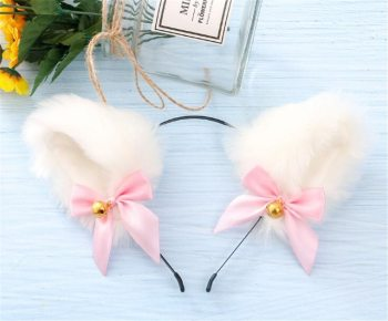 Cute Hair accessories Hairband Fashion Lady Girl Fox Cat Ears Head Bands Charming Night Party Club Bar Hair Clip Hairband image