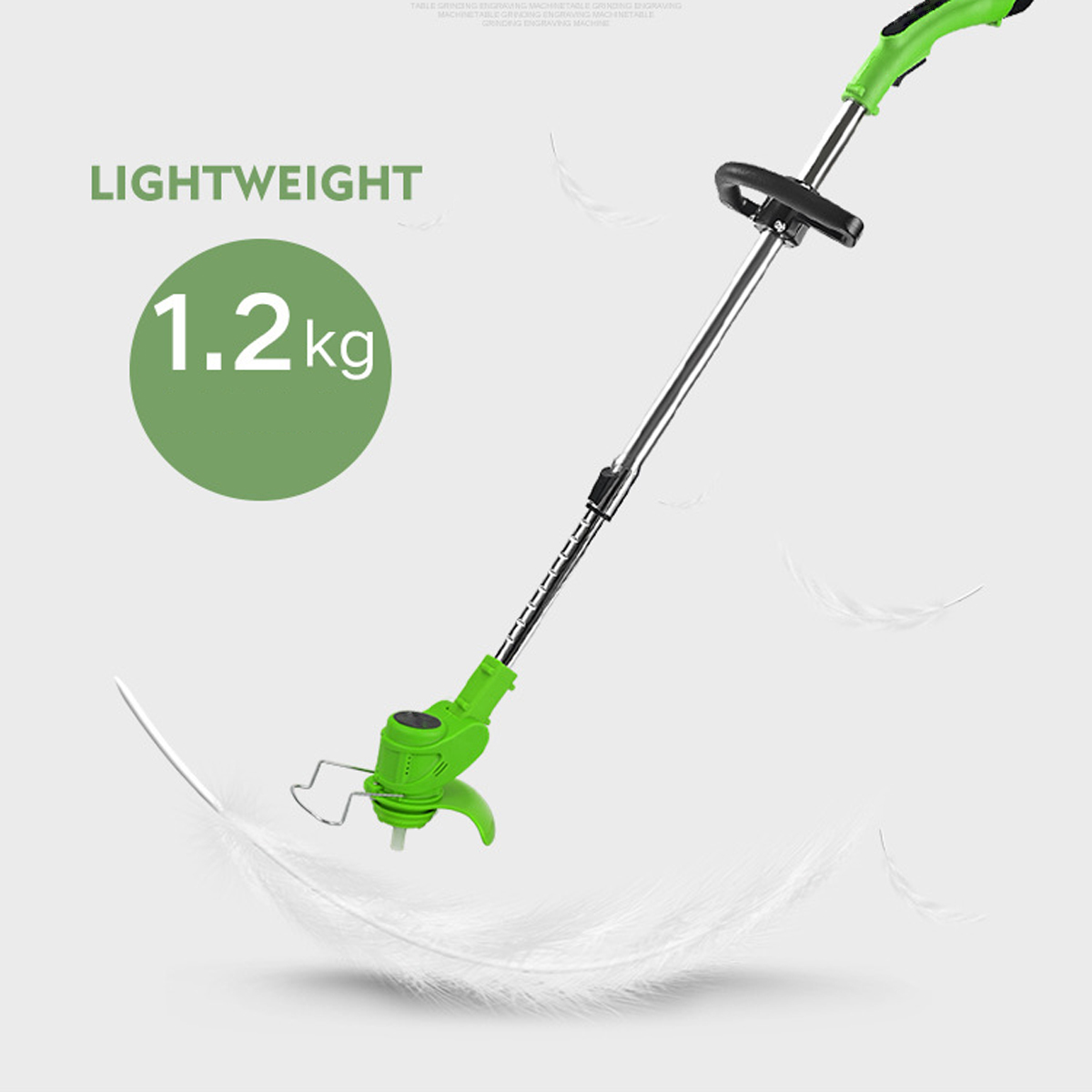 home improvement : 2 in 1 Electric Hedge Trimmer Cordless 3 6V USB Household Lawn Mower Rechargeable Weeding Shear Pruning Mower Garden Tools