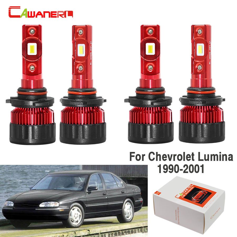 Chevrolet Matiz 55w Clear Xenon HID High//Low//Side Headlight Bulbs Set