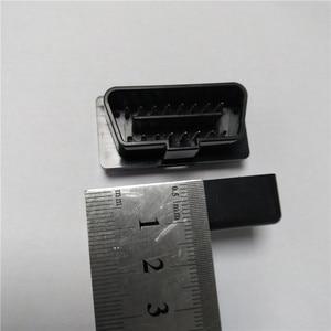 Image 5 - Coque noire pour ELM327, 10 pièces, prise OBD2/OBDII, ELM 327, étui uniquement, livraison gratuite