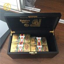 Банкноты Зимбабве с большим указанием, 30000003 долларов, золотые банкноты с нулевой коробкой
