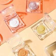Single Color Waterproof Shiny Eyeshadow Palette Makeup Pigment Glitter Metallic Diamond Eyeshadow Powder Cosmetic недорого
