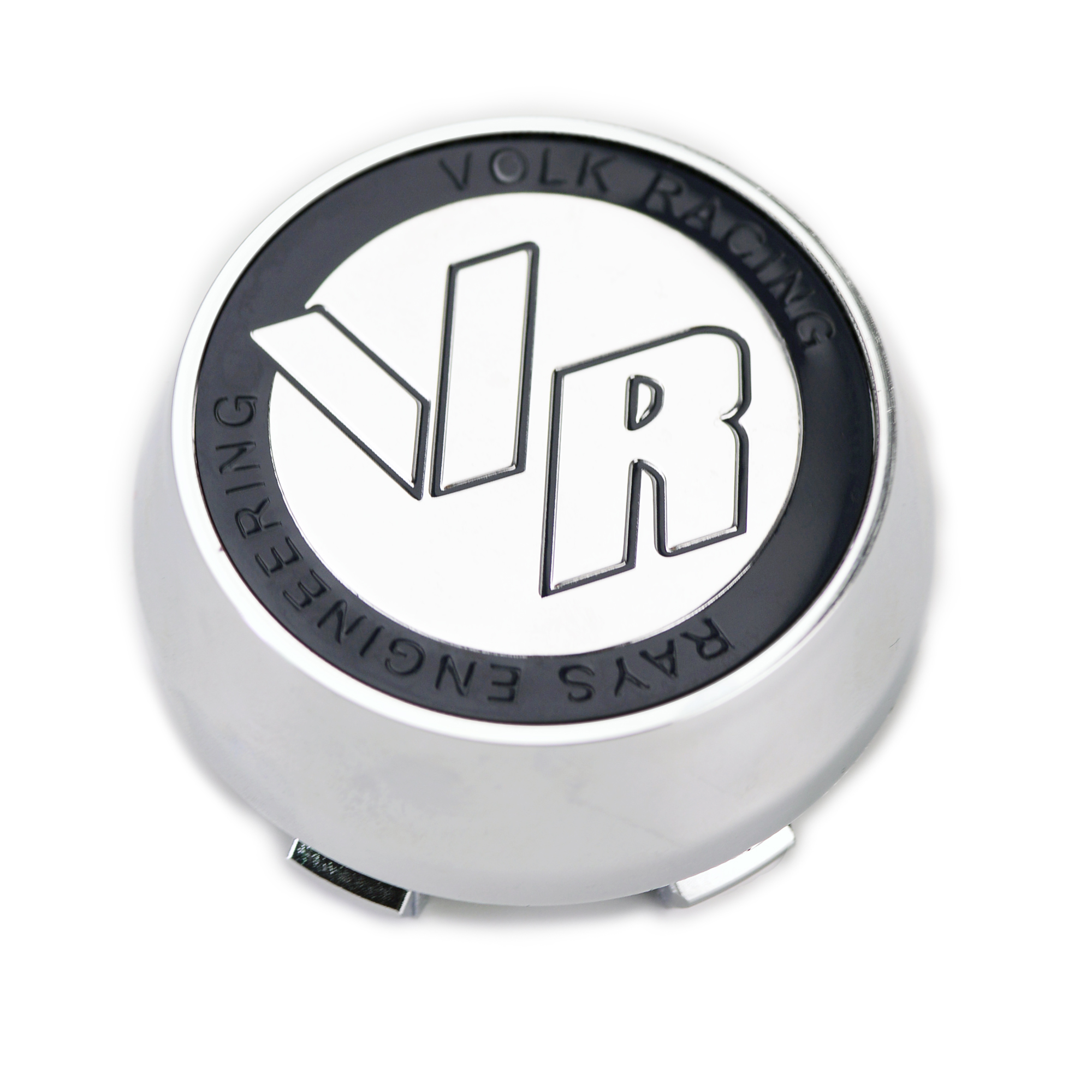 NEW 4x Cup 60 mm Wheel Center Caps Cover Hub Grey Gray For Volk Rays Racing