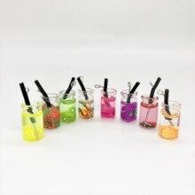 Toys Dolls-Accessories Dollhouse Drinks-Model Simulation Food Mini Fruit-Bottle Resin