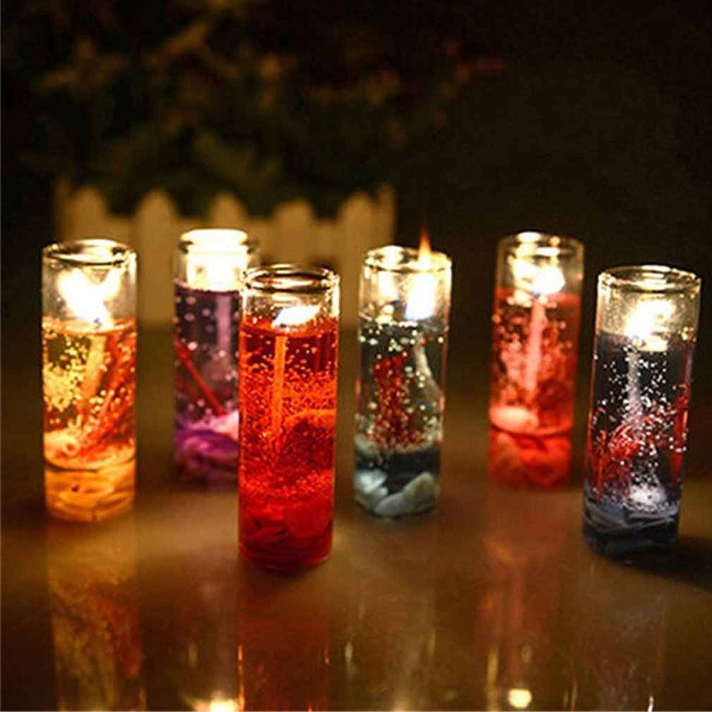Saint valentin mariage anniversaire coquille bougies bougies romantiques aromathérapie mer gelée bougie verre tasse cire bougies