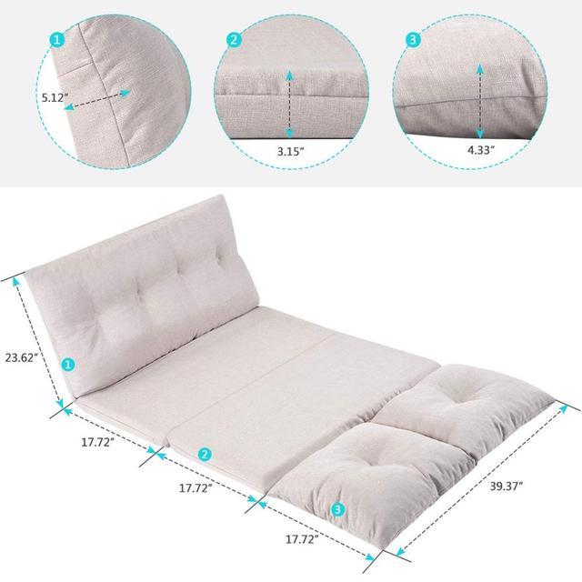 Фото регулируемая ткань диван складной кровать шезлонг кресло для цена