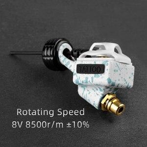Image 5 - 新しい強力なタトゥーペンロータリータトゥーガンマシンカートリッジロータリー針チューブ裏地シェーディングタトゥーグリップモータ電源