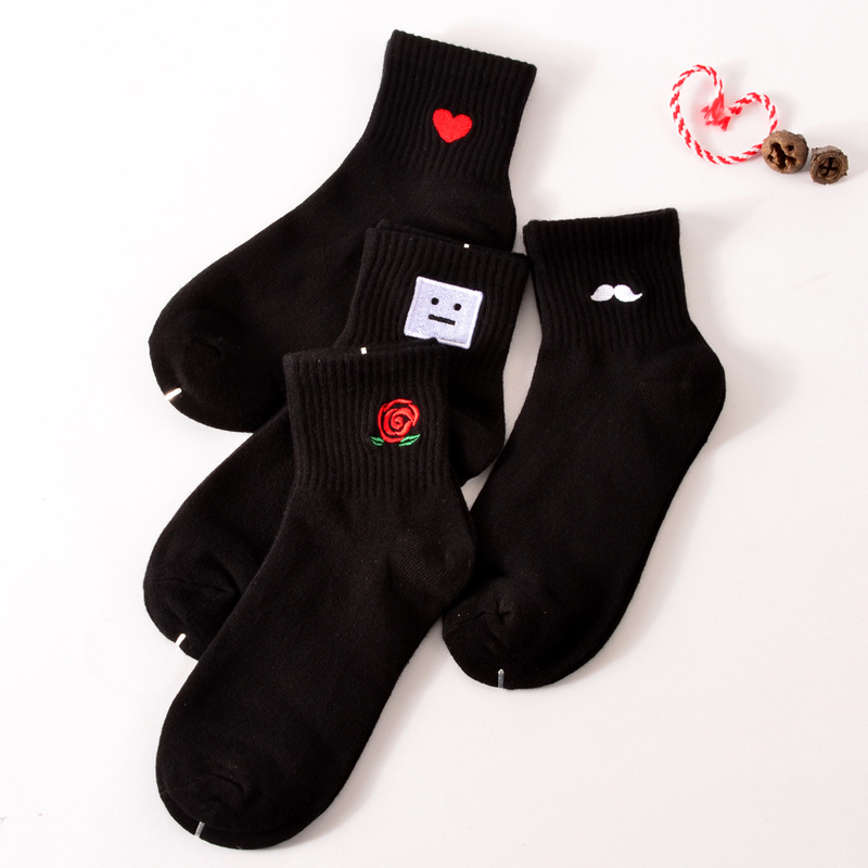 Women USUS-B4  Lovely  Pattern  Casual  Low Cut   Ankle Socks