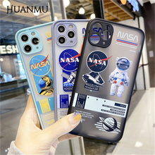 2021 New Astronaut Soft Anti fall Protection Cartoons Phone Case for iPhone 7/8 Plus 11/12 Pro Max 12mini Xr XsMax X/Xs