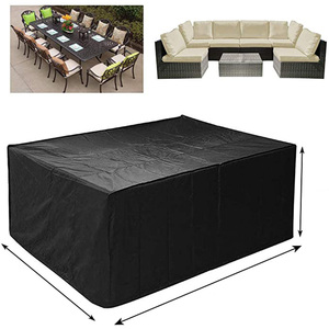 72 Sizes Oxford Cloth Furniture Dustproof Cover For Rattan Table Cube Chair Sofa Waterproof Rain Garden Patio Protective Cover