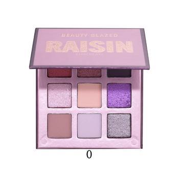 Beauty Glazed 9 Colors Eyeshadow Palette Shimmer Waterproof Metallic Matte Eye Shadow Powder Make Up Maquillage 21
