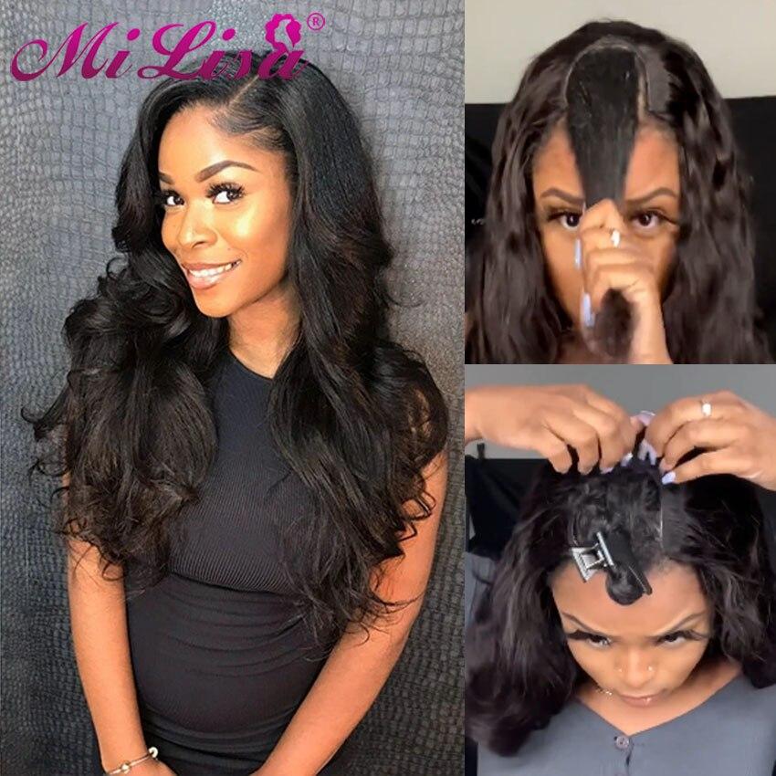 30 polegada onda do corpo u parte peruca perucas de cabelo humano para preto feminino peruano remy peruca cabelo humano frete grátis mi lisa onda do corpo peruca