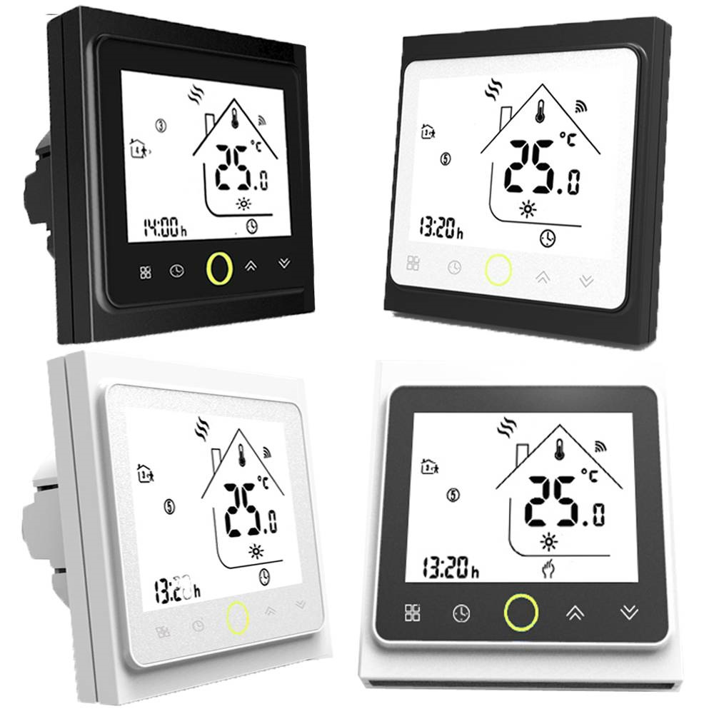 Thermostat Programming Water/Electric Heating /Gas Boiler Wifi /No/Modbus Thermostat Touch Screen Room Temperature Controller