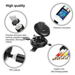 Image 5 - Kabel magnetyczny Oatsbasf typ C USB dla Xiao mi mi 9 mi cro kabel USB magnetyczny podnoszony kabel ładowania dla Iphone Huawei Samsung