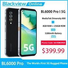 Blackview BL6000 Pro 5G смартфон 8 Гб Оперативная память + 256 ГБ Встроенная память 6,36